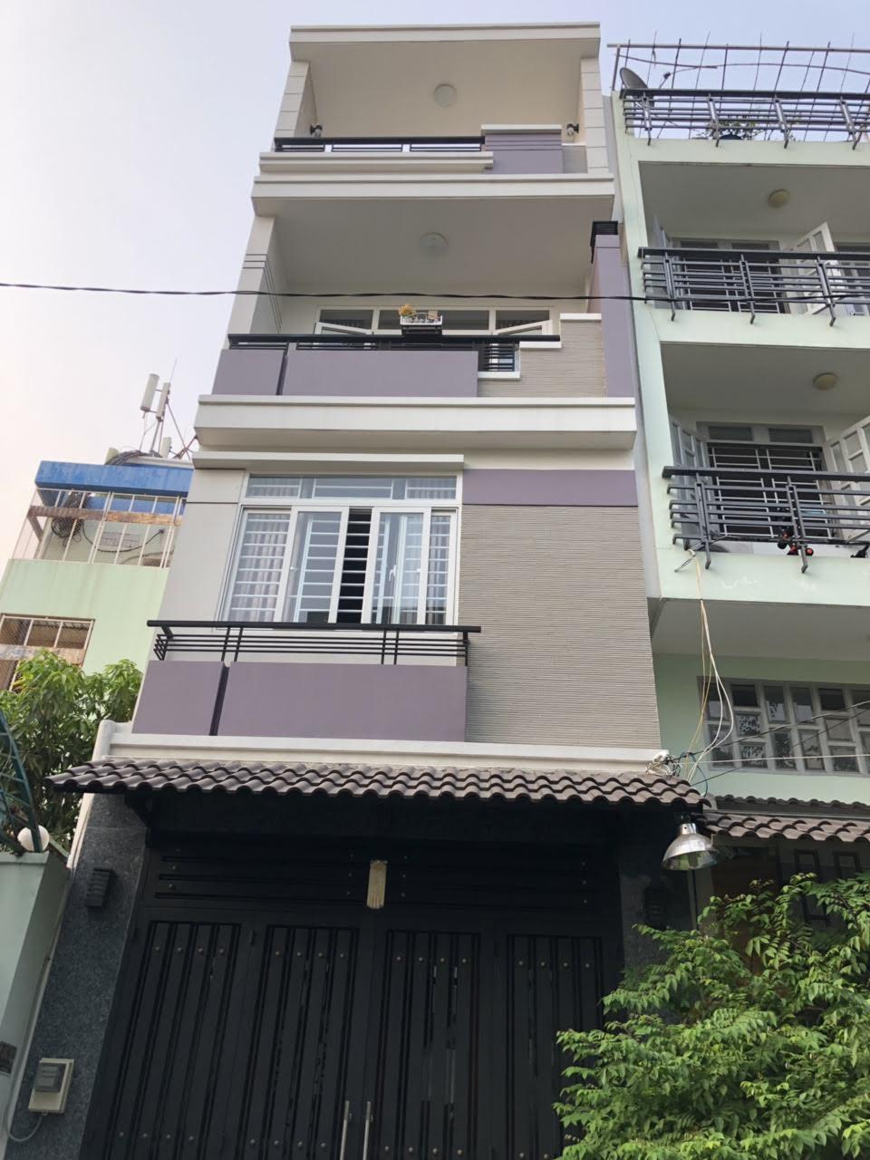 Bán nhà Nguyễn Hồng Đào, P.14, Tân Bình; 4 x 17m, 3 lầu mới, giá 10,5 tỷ