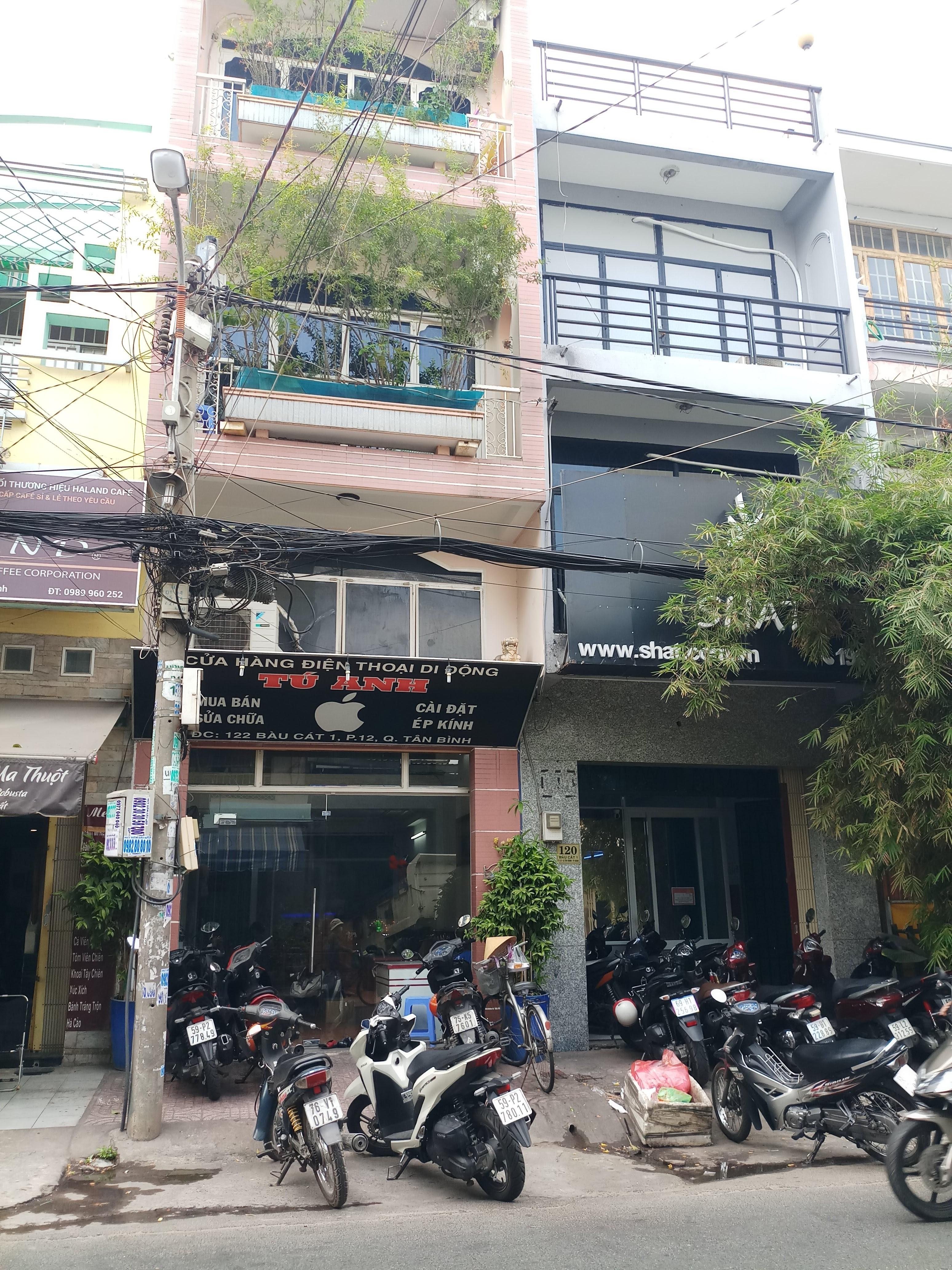 Bán nhà MT Hoàng Hoa Thám, P.12, Tân Bình; 4 x 22m, 4 lầu, ngay chợ Hoàng Hoa Thám