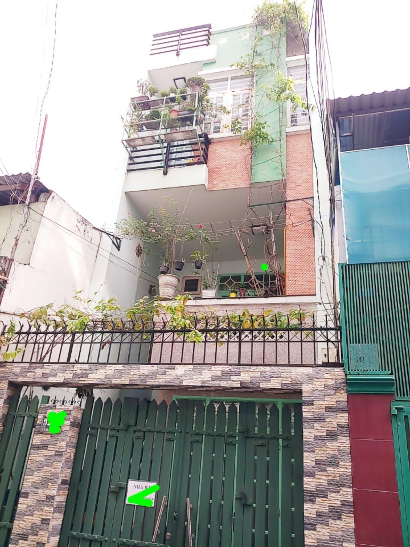 Bán nhà mặt tiền đường A4, P.12, Tân Bình; 4 x 16m, 3 lầu, giá 14.5 tỷ
