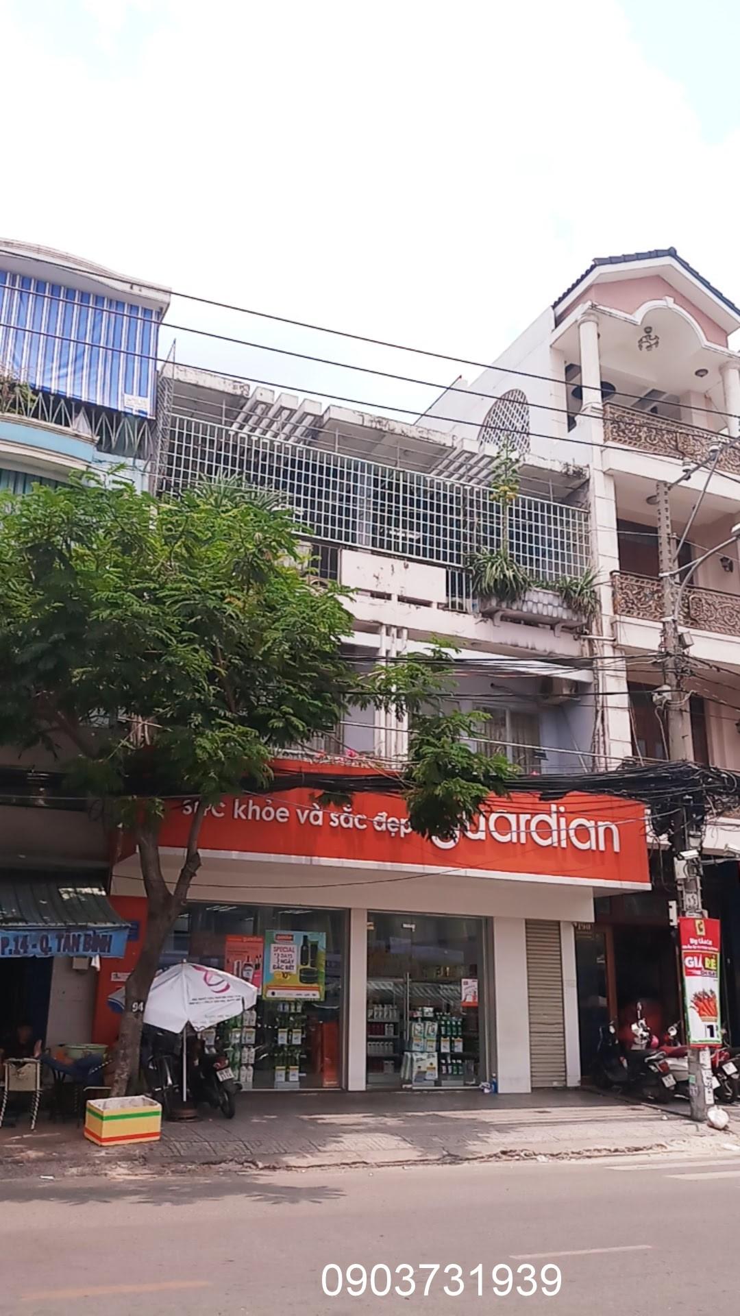 Bán nhà MT Bàu Cát 1; DT: 8 x 16m, 3 lầu mới, vị trí đẹp nhất, HĐ thuê 70tr