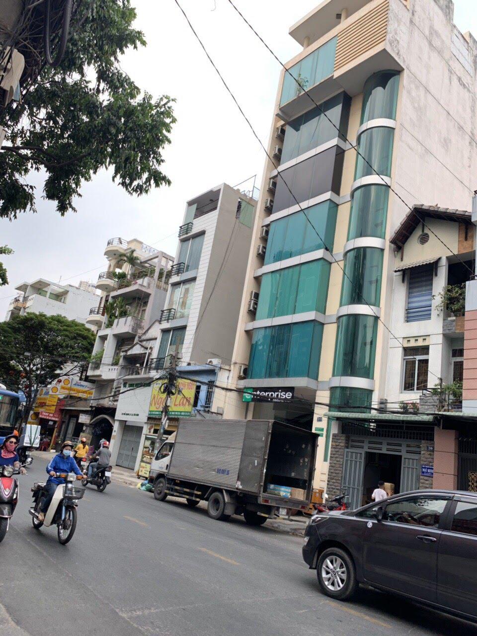 Bán tòa nhà văn phòng mặt tiền Phổ Quang, P.2, Tân Bình; 8x18m, 7 lầu, giá 49 tỷ