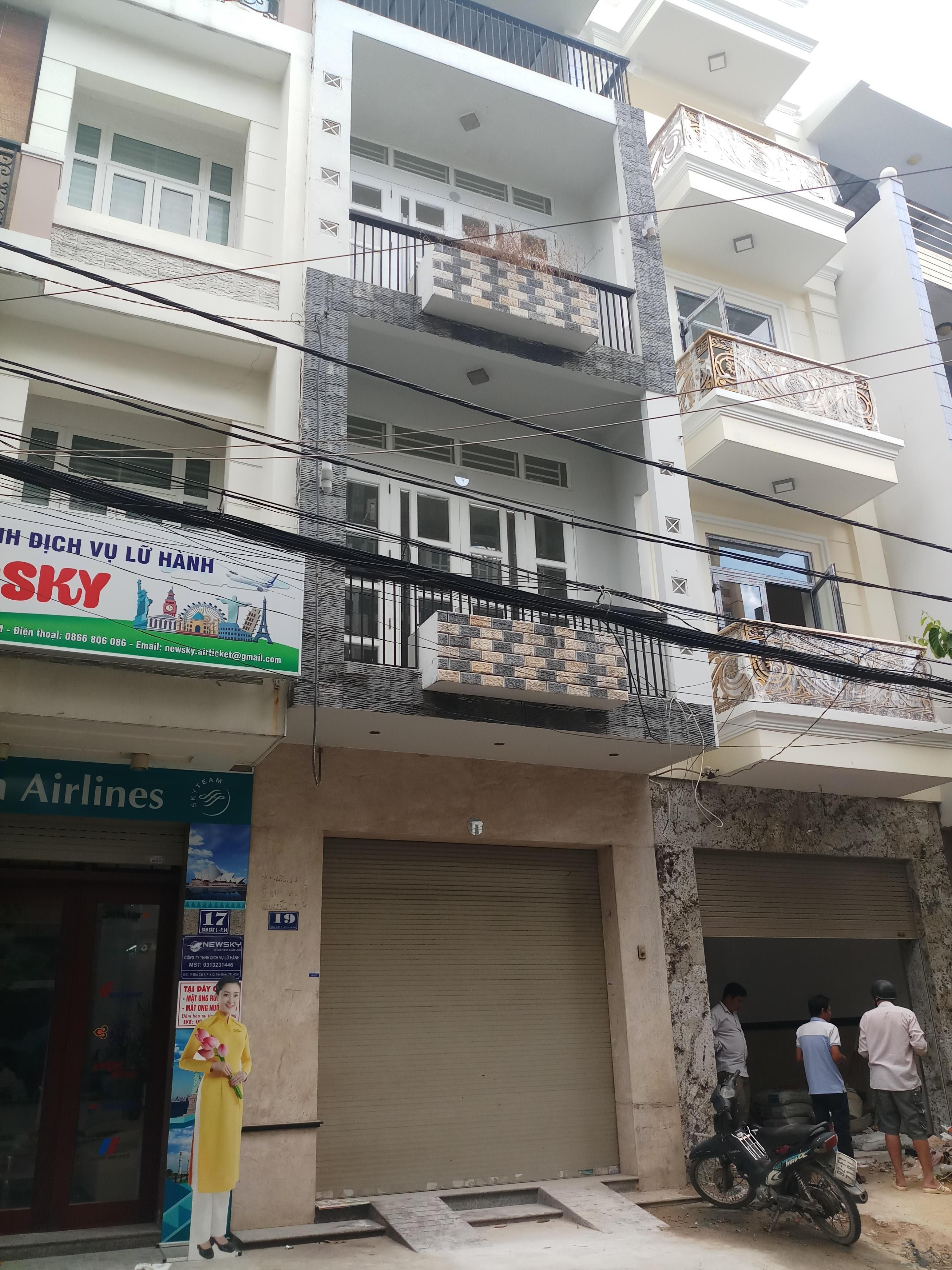 Nhà bán mặt tiền Bàu Cát 1, P.14, Tân Bình; 4x14m, 3 lầu mới, vị trí rất đẹp, giá 11 tỷ